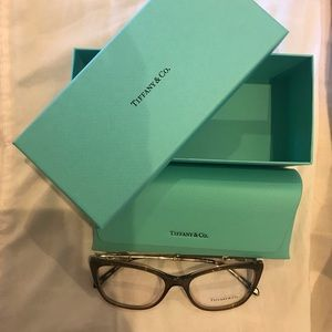 Authentic Tiffany eyeglasses, new - never worn.